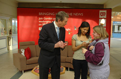 BBC Look Northwest visits the Westmorland Shopping Centre